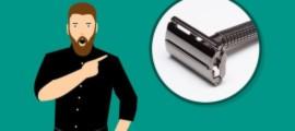 Т-образная бритва для мужчин